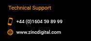 galvanised support: zinc issue tracker